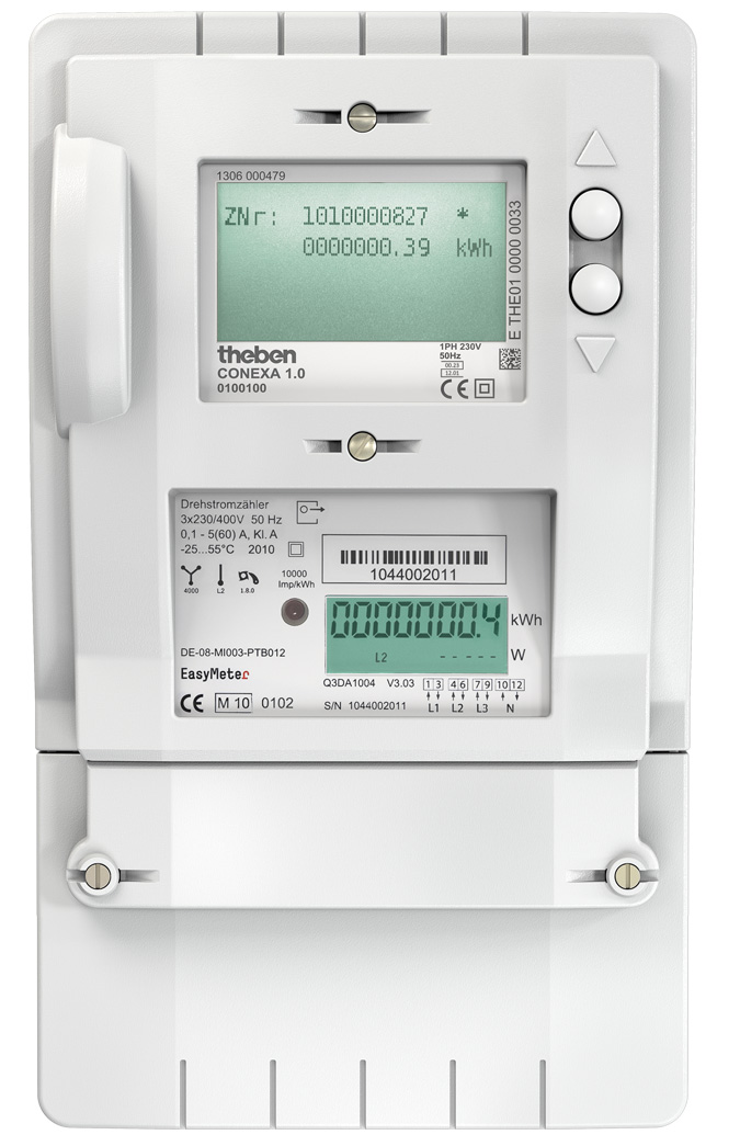 smart meter Smart electric meters are the same shape and size as traditional meters, except they have a digital display and a blue and white face smart natural gas meters have a small module installed behind the existing dial hands, so you won't see any difference once the new gas meter module is installed.