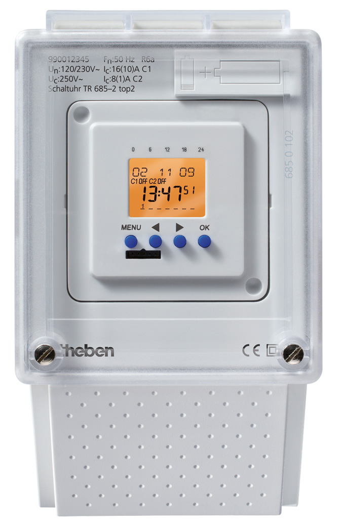 Tariff Time Switch TR 685-2 Top2