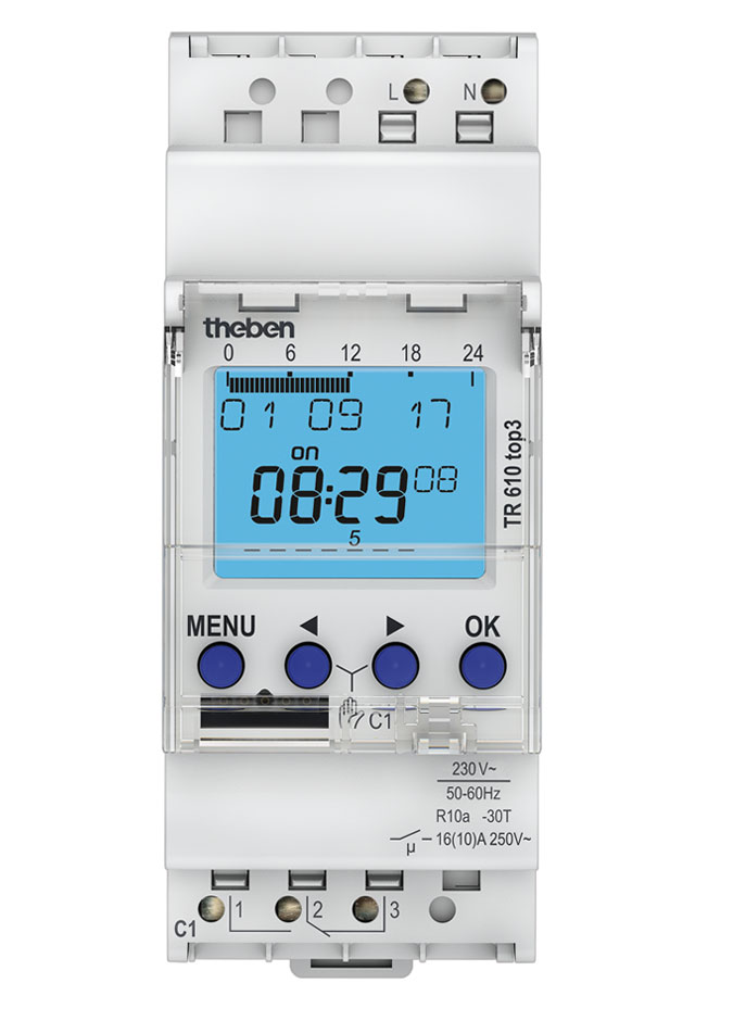 Digital Time Switch TR 610 Top3